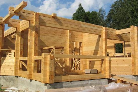 Строительство домов из бруса своими руками технология