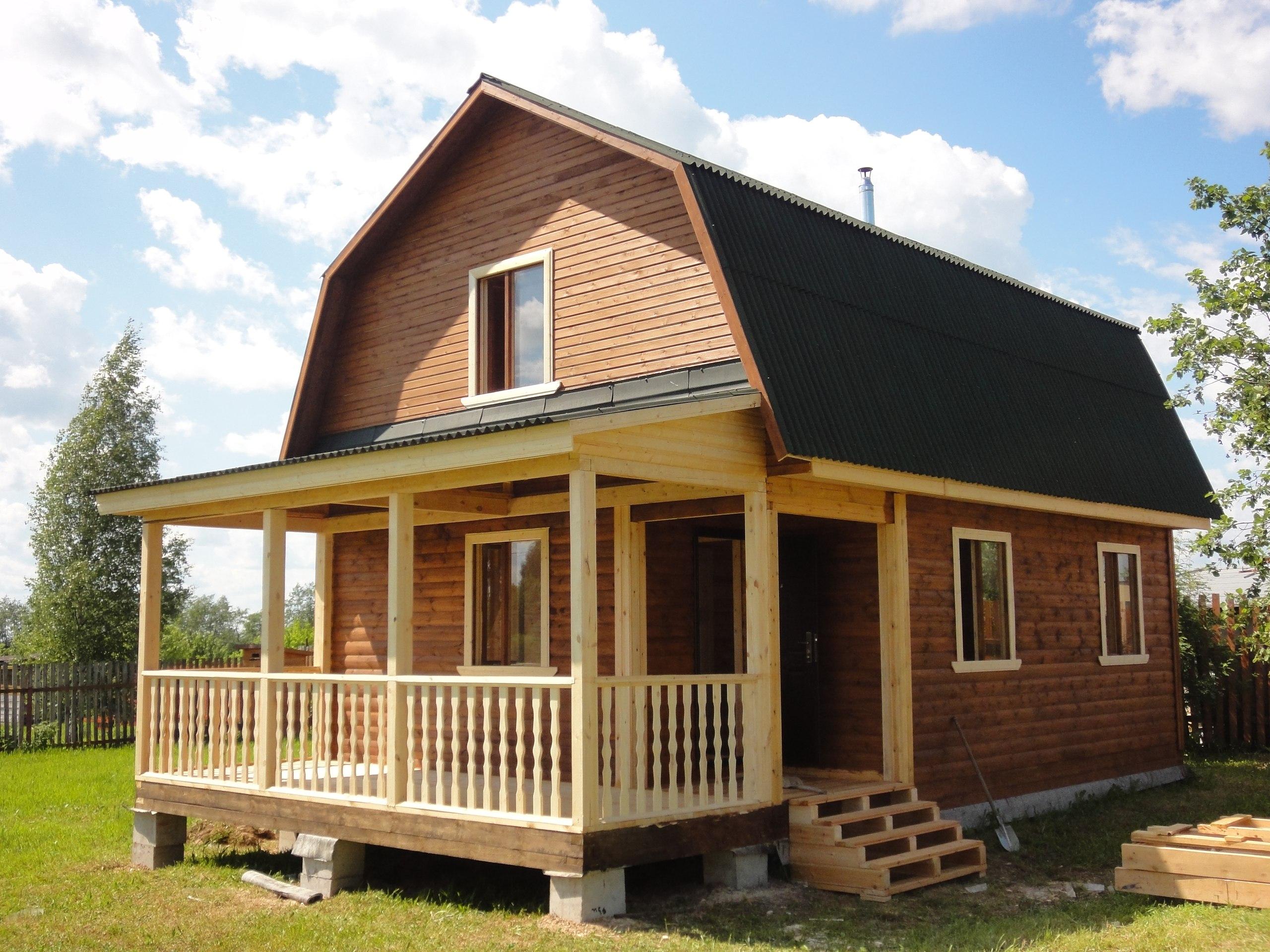Построить дачный дом из бруса