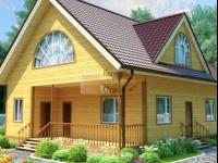 Проект дома из бруса №118 10х12