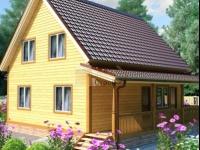 Проект дома из бруса №110 9х9