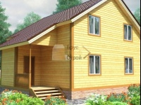 Проект дома из бруса №115 9х10