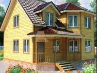 Проект дома из бруса №111 9х9
